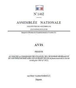rapport PLFSS 2014
