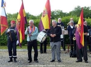 Cimetière des Espagnols - Septfonds - 8 mai 2015